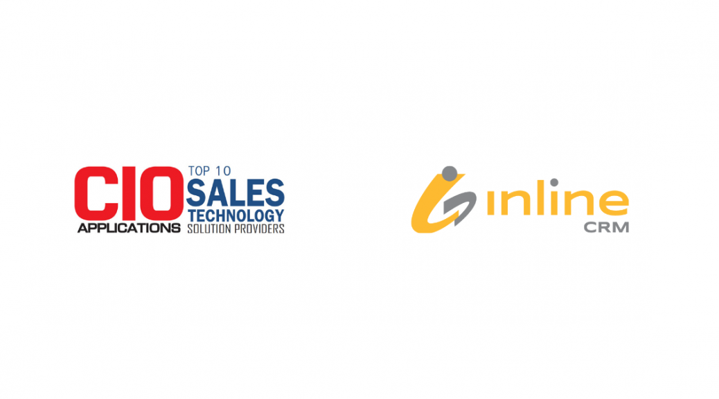 CIO top 10 sales technology solution providers and Inline CRM logos